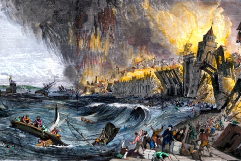 Le tremblement de terre de Lisbonne, 1755. 280