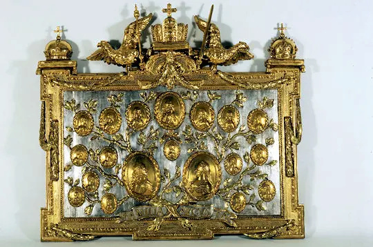 Balthazar Moll,  Tableau commémoratif de la famille impériale d'Autriche 29229811