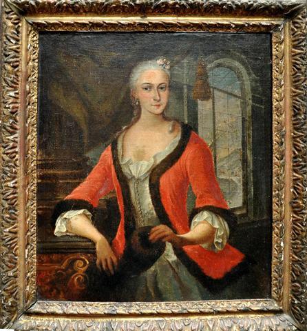 Galerie de portraits : Le manchon au XVIIIe siècle  - Page 2 311