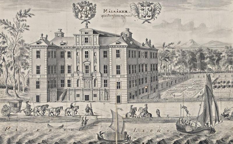 Le château de Mälsåker, résidence Fersen 363