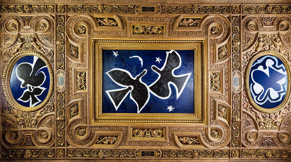 """"""" Les Oiseaux """"  de Braque et Hitchcock  384"""