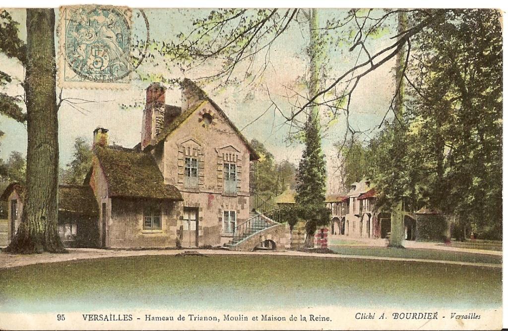Le moulin du Hameau du Petit Trianon 424