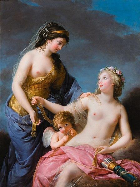 """Marie-Antoinette renonce au """" droit de ceinture """"... 448px-10"""