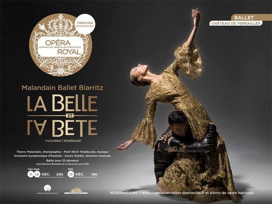 A l'Opéra royal de Versailles, Thierry Malandain :   Marie-Antoinette 458
