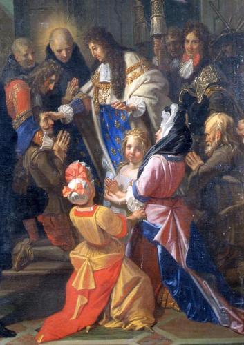 Le Toucher royal des Ecrouelles 479