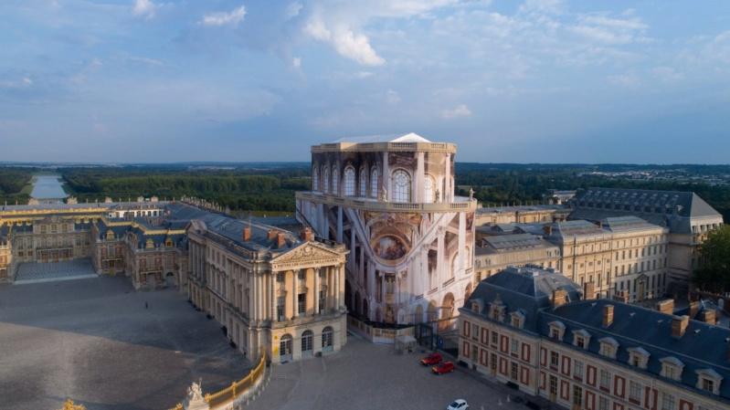 La restauration de la chapelle royale du château de Versailles 496