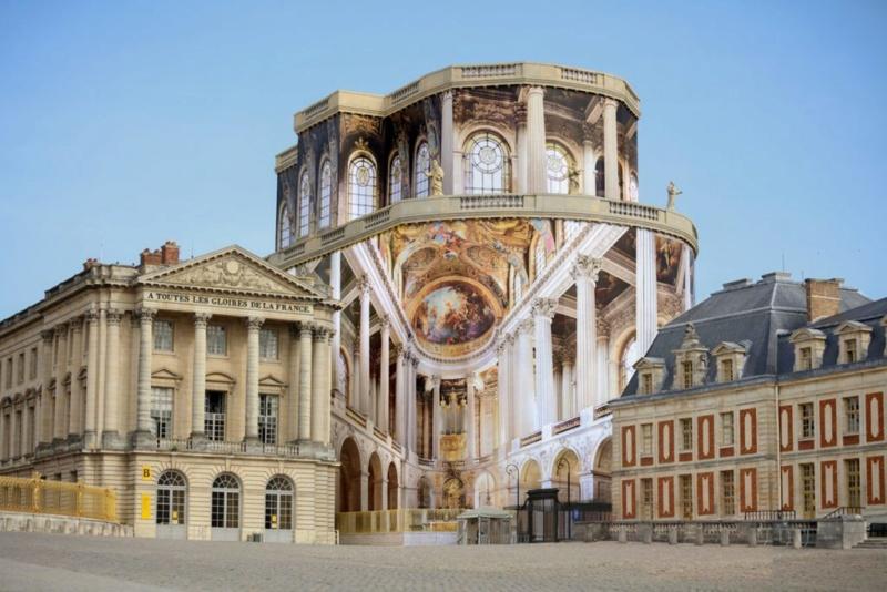 La restauration de la chapelle royale du château de Versailles 497