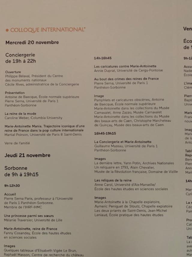 Colloque international Marie-Antoinette - 20 / 21 / 22 Novembre 2019 4_jfif15