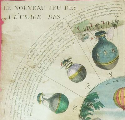 La conquête de l'espace au XVIIIe siècle, les premiers ballons et montgolfières !  - Page 7 5170