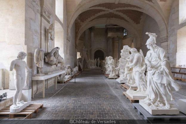 Versailles, la Galerie des Sculptures et des Moulages 59647210