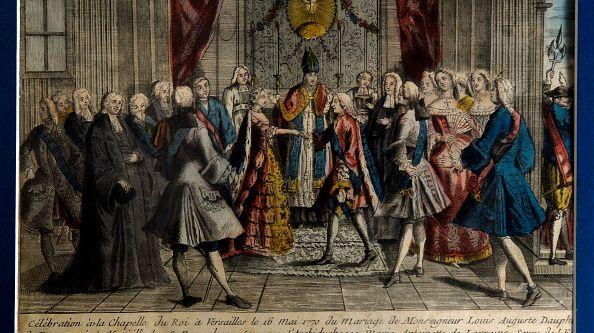 L'habit de mariage de Marie-Antoinette 600x3310