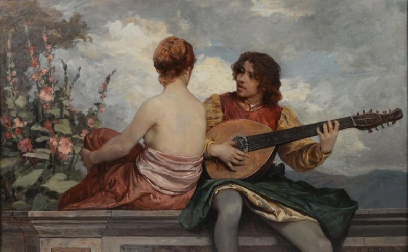 Une guitare-luth (et non pas une mandoline) ayant appartenu à Marie-Antoinette ?  633