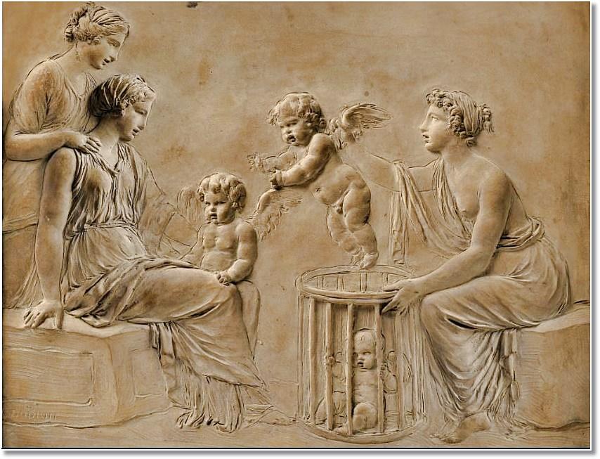 Le sculpteur Claude Michel, dit Clodion  (  1738 - 1814 ) 6_jfif17