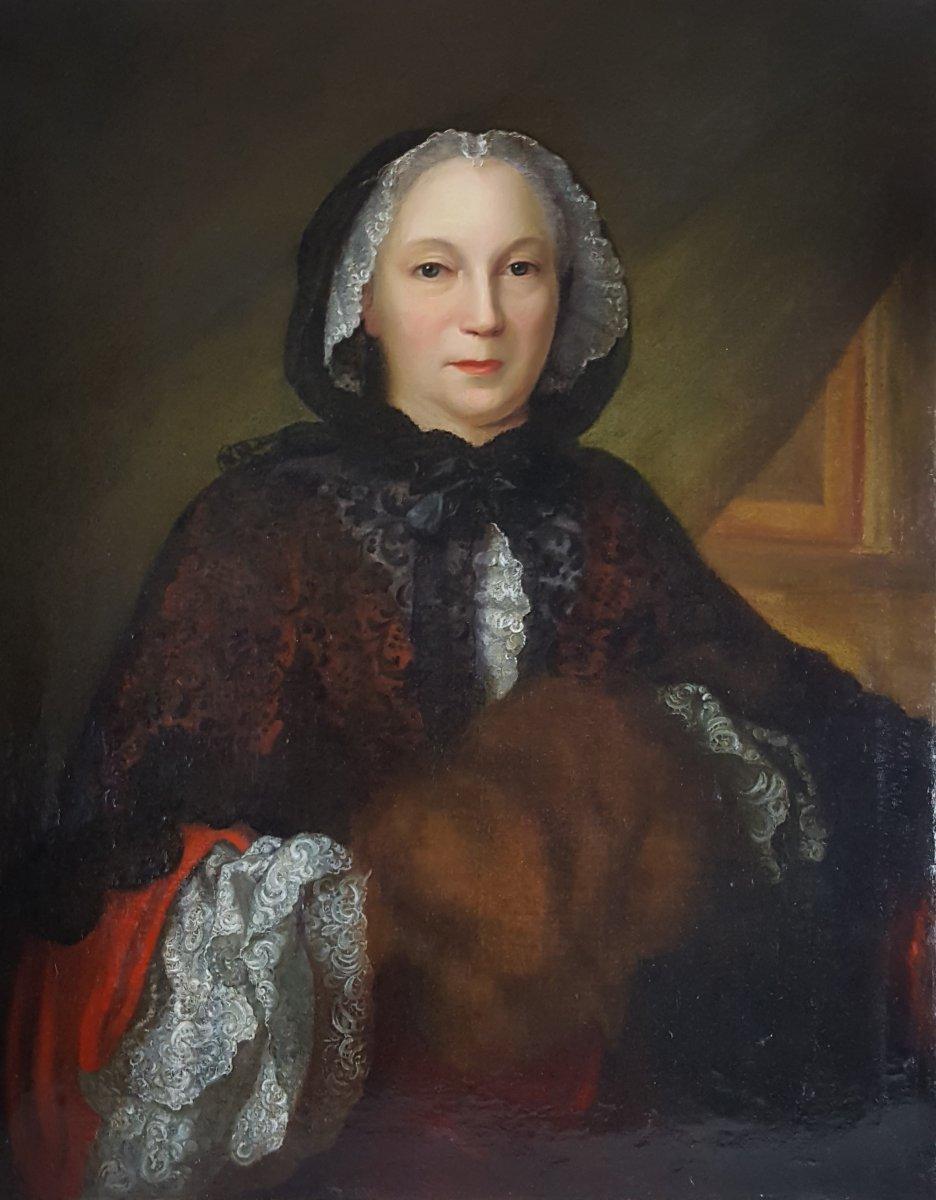 Galerie de portraits : Le manchon au XVIIIe siècle  - Page 3 70417110