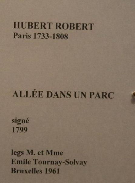 Hubert Robert et le XVIIIe siècle 710