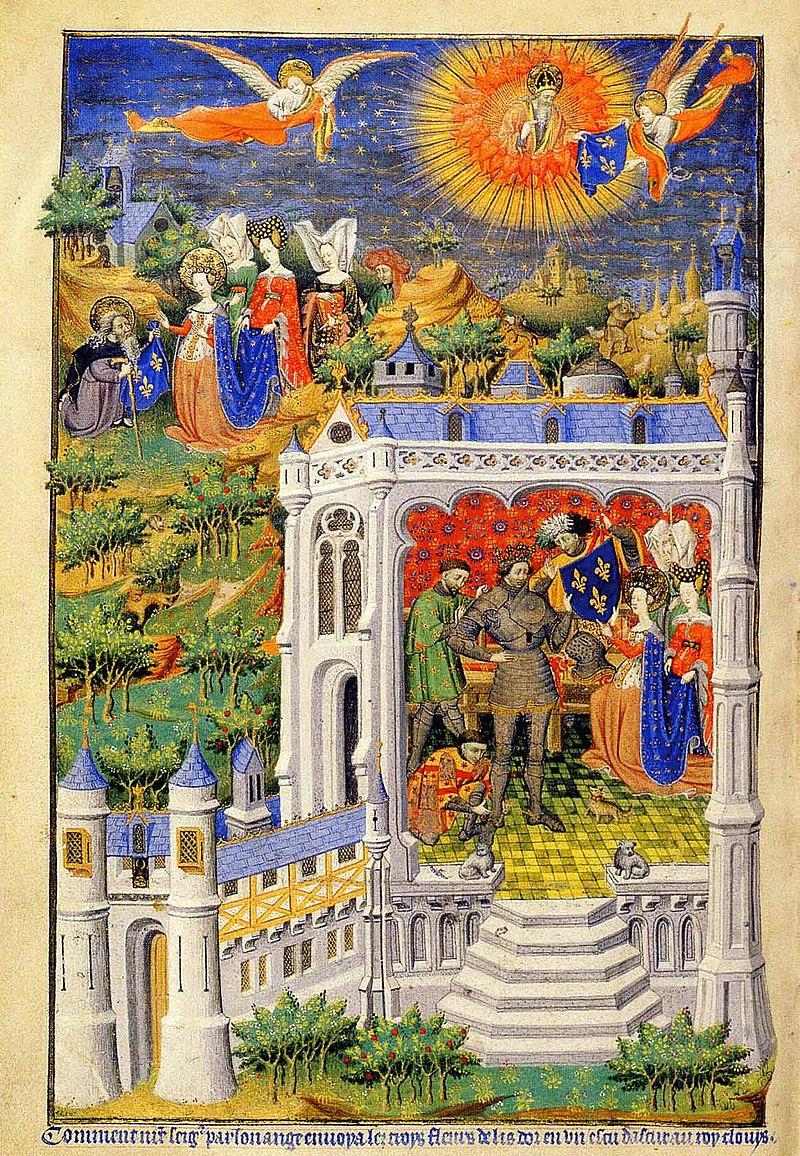 Symbole par excellence de la royauté française :  la Fleur de Lys 761