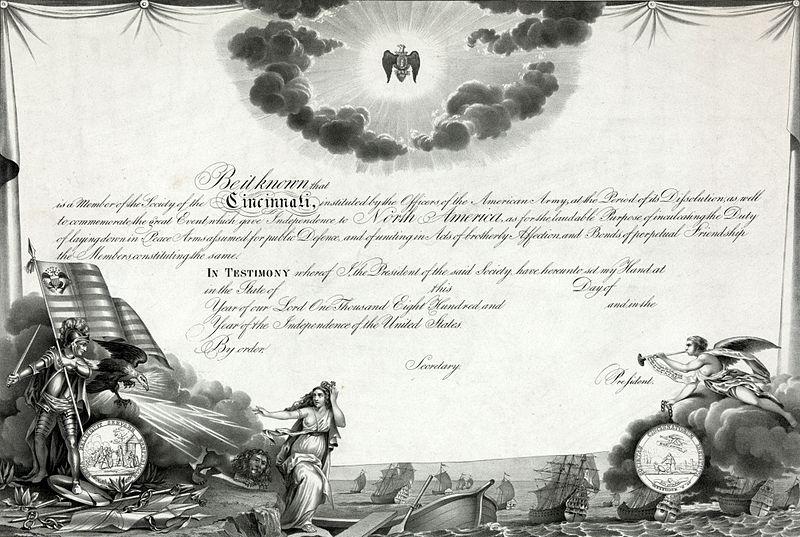 L'Ordre de Cincinnatus & la Société des Cincinnati 800px-27