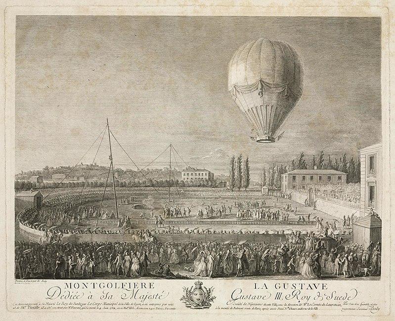 La conquête de l'espace au XVIIIe siècle, les premiers ballons et montgolfières !  - Page 8 800px-38