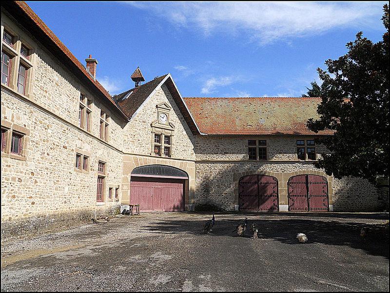 A 30 km au sud de Lyon,  le château de Septème 800px-79