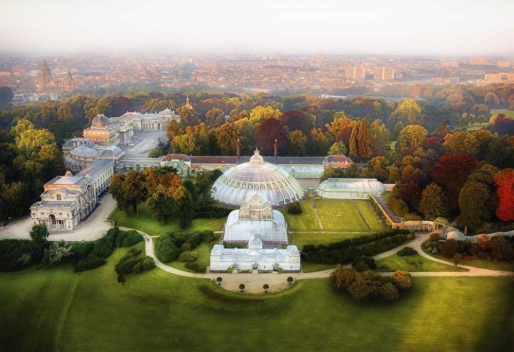 Belgique :  les Serres royales de Laeken 839