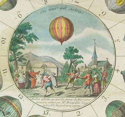 La conquête de l'espace au XVIIIe siècle, les premiers ballons et montgolfières !  - Page 7 933