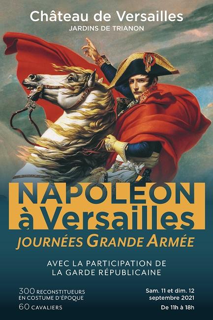 Les 11 et 12 septembre 2021 :  Napoléon à Versailles Affich13