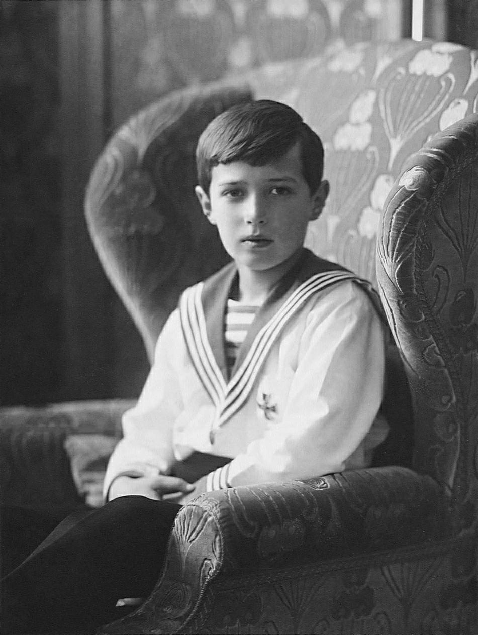 Michel Alexandrovitch de Russie, frère cadet de Nicolas II Alexei10