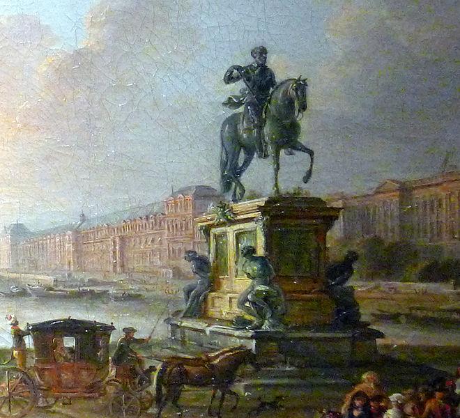 Vandalisme révolutionnaire, les statues des rois abattues Ancien13