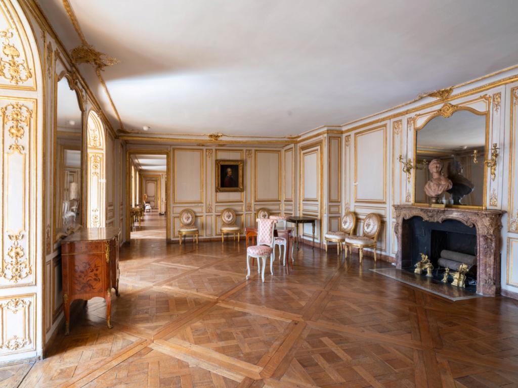 Restauration de l'appartement de Mme du Barry, à Versailles Antich10