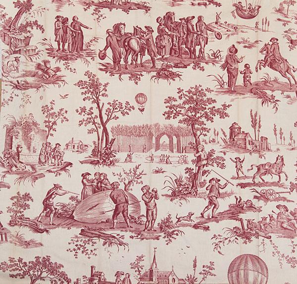 Les toiles de Jouy et la manufacture de Christophe-Philippe Oberkampf - Page 2 Ballon10