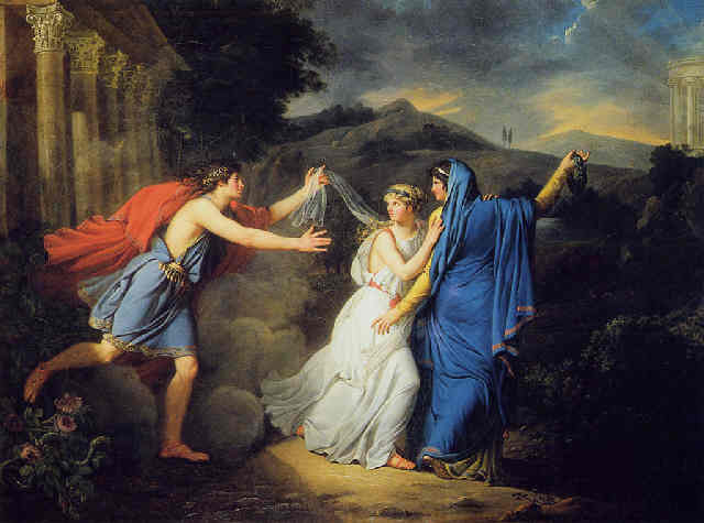 Femme et peintre, Marie-Guillemine Benoît  ( 1768 - 1826 ) Benois10