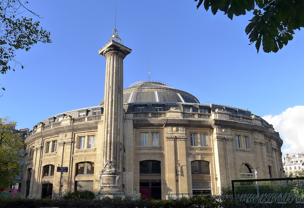Paris, la Colonne Médicis Bourse10