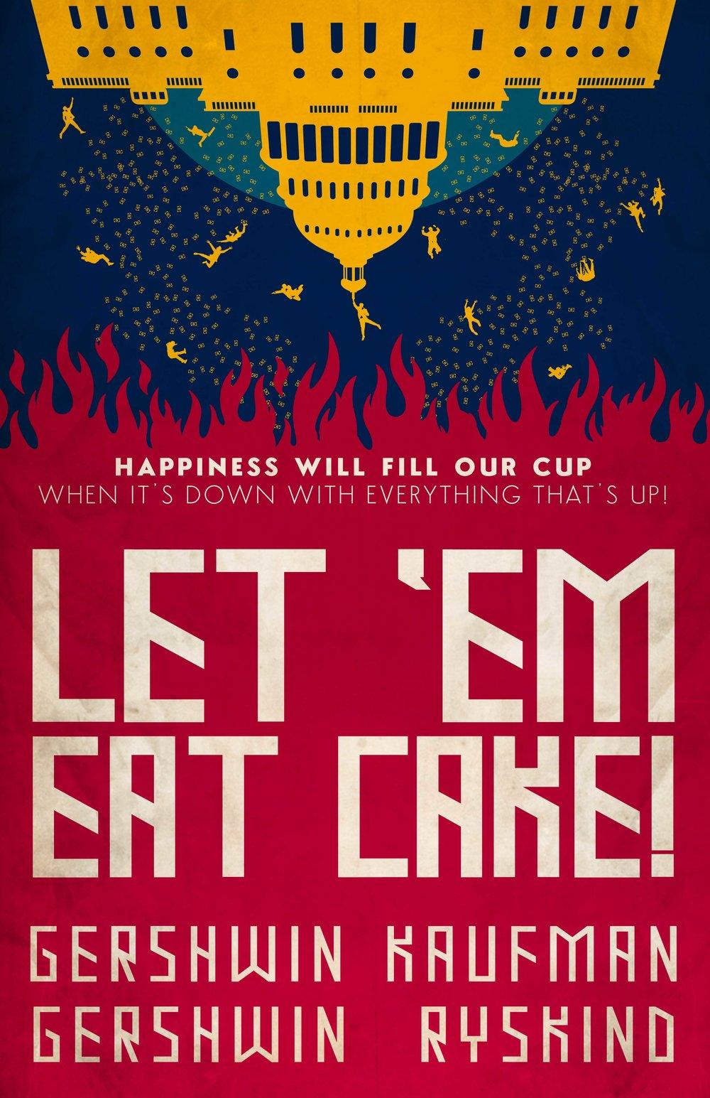 """Une comédie musicale de George Gershwin,    """"  Let 'Em Eat Cake !  """" Cake310"""
