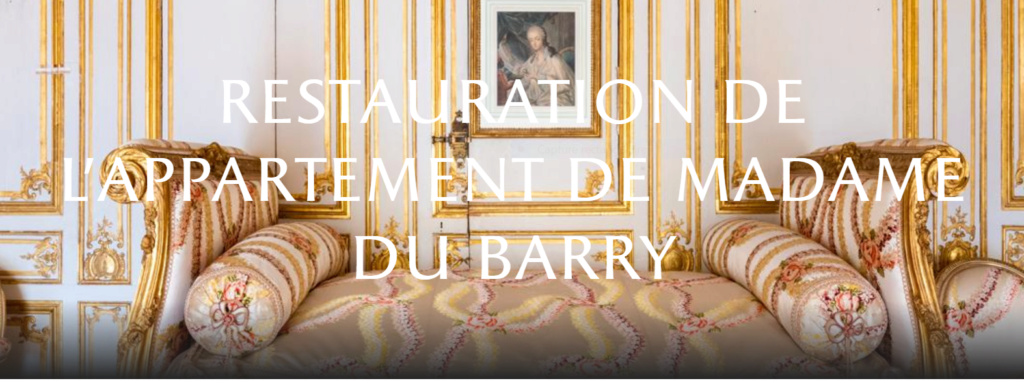 Restauration de l'appartement de Mme du Barry, à Versailles Capt1024