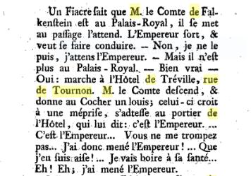 L'Hôtel de Tréville, à Paris Captu243