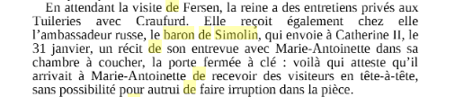 farr - Marie-Antoinette et le comte de Fersen, la correspondance secrète, d'Evelyn Farr - Page 9 Captu316