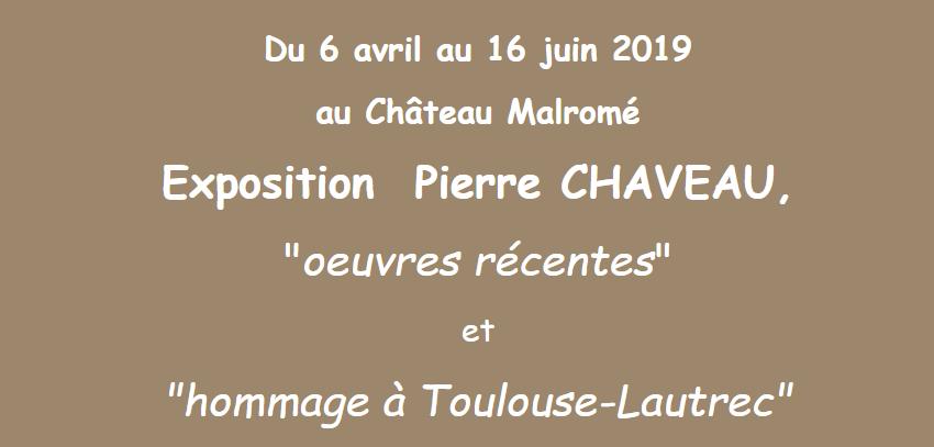 Une exposition du peintre  Pierre Chaveau Captu395