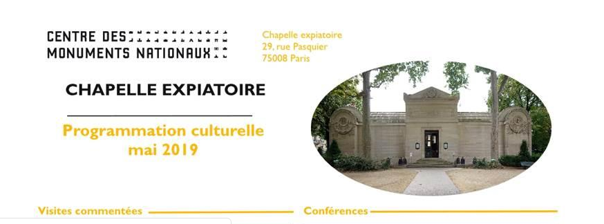 Expositions et conférences à la Chapelle expiatoire, Paris - Page 2 Captu406