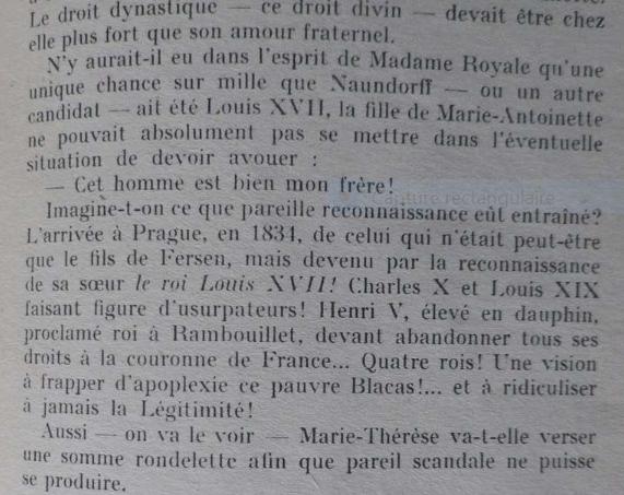 Le Secret de Madame Royale,  de André Castelot - Page 2 Captu443