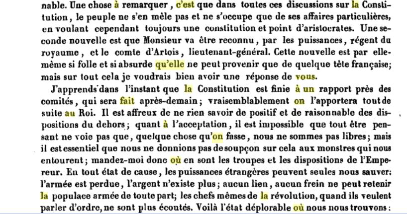 La correspondance de Marie-Antoinette avec le comte de Mercy-Argenteau - Page 2 Captu519