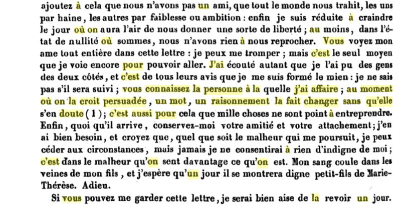 La correspondance de Marie-Antoinette avec le comte de Mercy-Argenteau - Page 2 Captu520