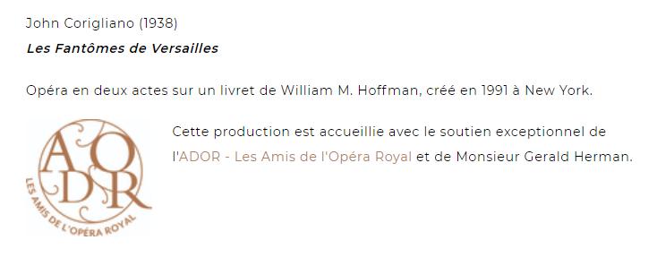John Corigliano à l'Opéra Royal : Les Fantômes de Versailles Captu523