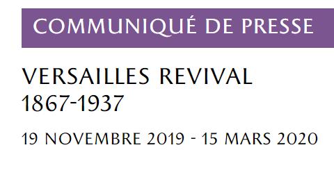 Exposition au Château de Versailles :  Versailles Revival Captu534
