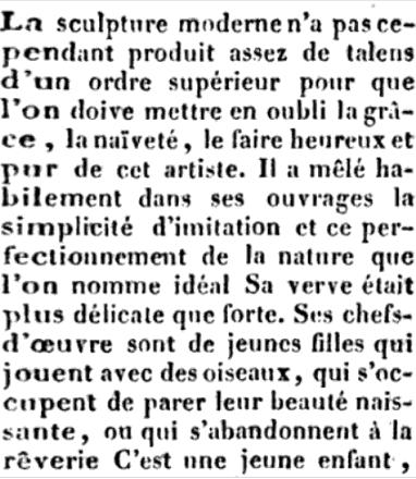 Le sculpteur Claude Michel, dit Clodion  (  1738 - 1814 ) Captu605