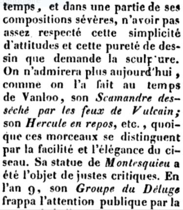 Le sculpteur Claude Michel, dit Clodion  (  1738 - 1814 ) Captu608
