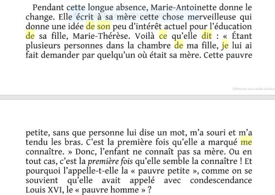 Marie-Antoinette, l'indomptée, de Élisabeth Reynaud Captu645