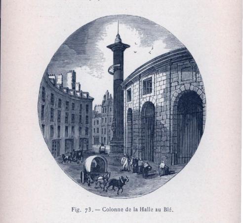 Paris, la Colonne Médicis Captu771