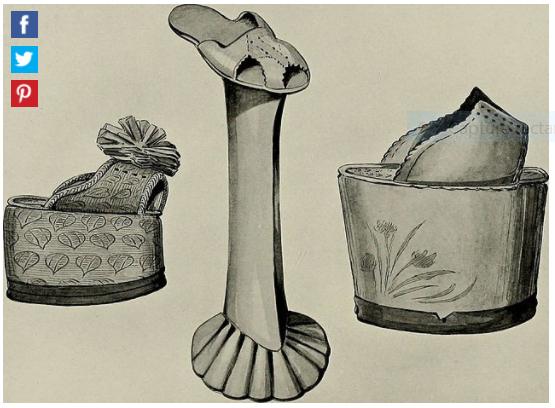 Chaussures et souliers du XVIIIe siècle Captu799