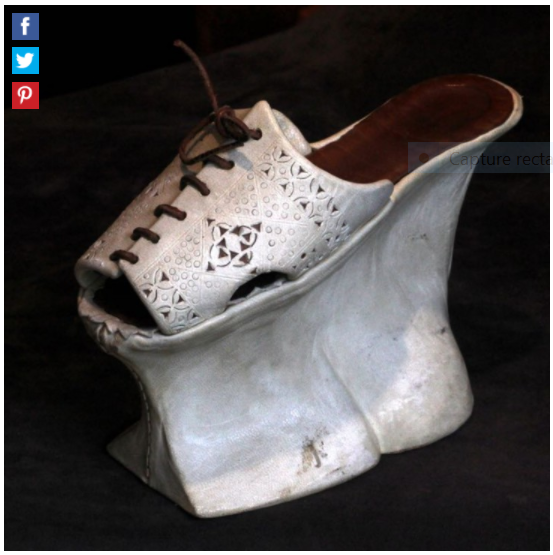 Chaussures et souliers du XVIIIe siècle Captu801