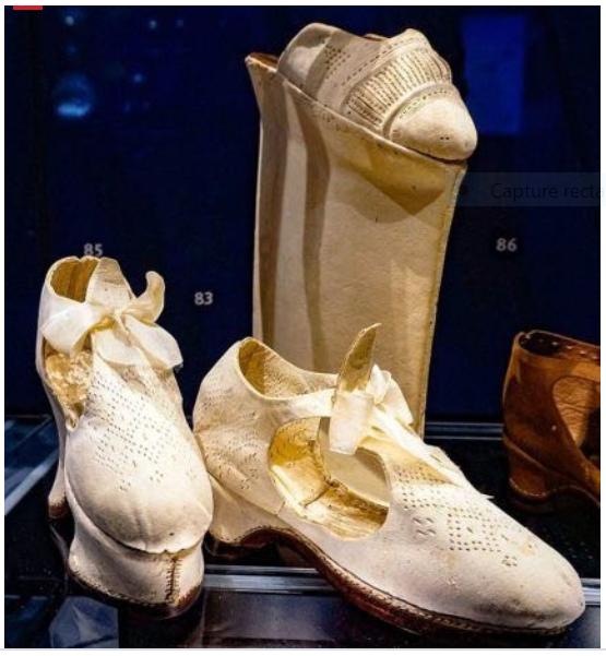 Chaussures et souliers du XVIIIe siècle Captu803